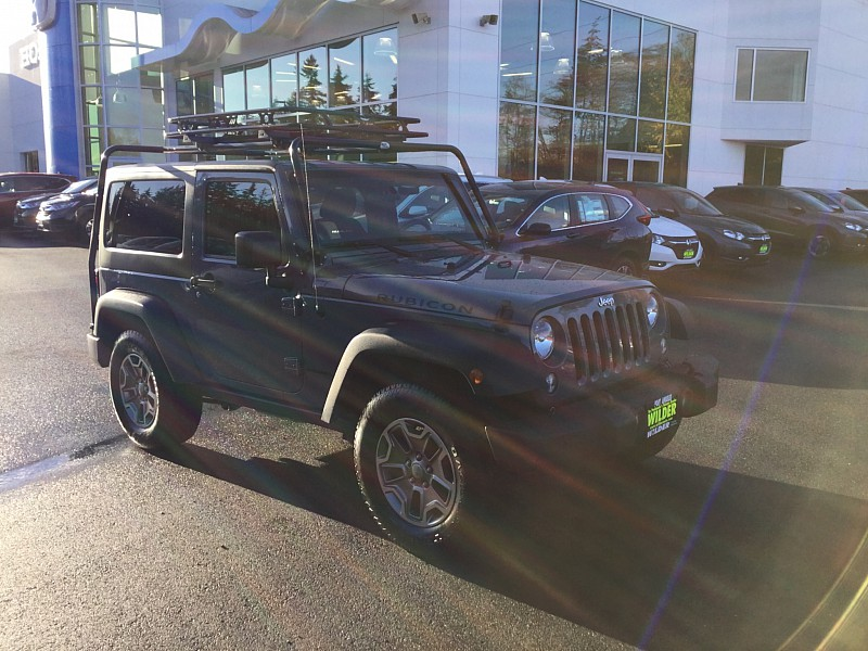 Pre-Owned 2015 Jeep Wrangler 2d Convertible Rubicon