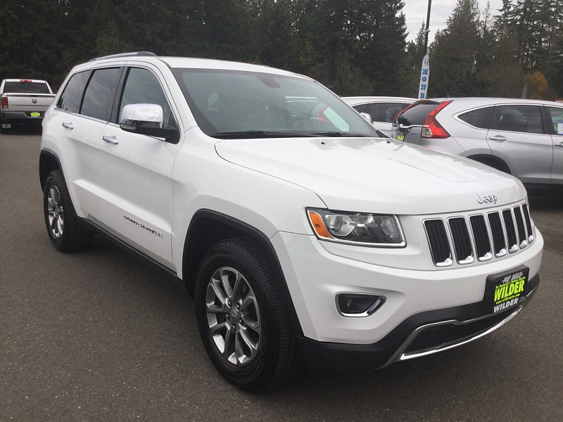 Pre-Owned 2015 Jeep Grand Cherokee 4d SUV 4WD Limited