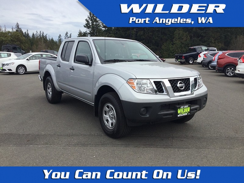 Pre-Owned 2019 Nissan Frontier 4WD Crew Cab S