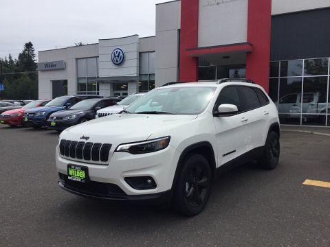New 2019 JEEP Cherokee 4d SUV 4WD Latitude Plus Altitude 2.4L