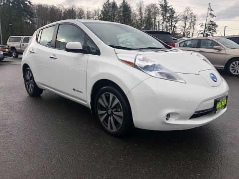 Pre-Owned 2015 Nissan Leaf 4d Hatchback SV