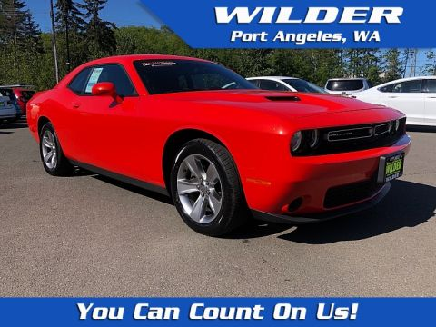 Certified Pre-Owned 2018 Dodge Challenger 2d Coupe SXT