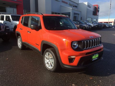 New 2019 JEEP Renegade 4d SUV 4WD Sport